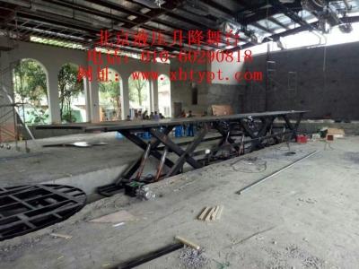 舞台背景钢架结构图